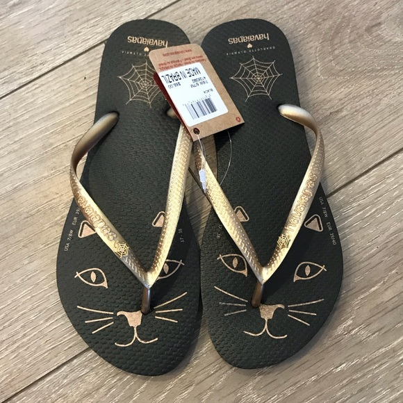 68a8c88df2a Charlotte Olympia Kitty Havaianas